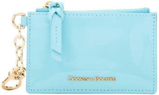 Dooney & Bourke Patent Leather Zip Top Card Case