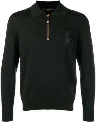 Billionaire magila zip polo shirt