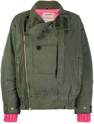 Zadig & Voltaire Zadig&Voltaire oversized bomber jacket
