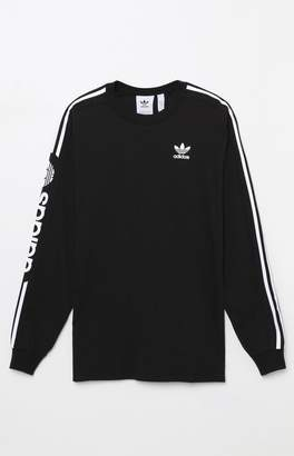 adidas Graphic Black Long Sleeve T-Shirt