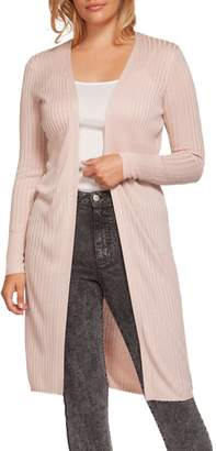 Dex Long Open Cardigan