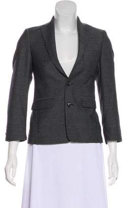 Michael Kors Wool Structured Blazer