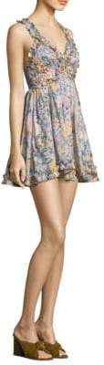 Alice McCall Gardenia Floral-Print Dress