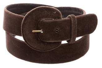 Givenchy Vintage Velvet Belt