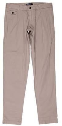 Dolce & Gabbana Pleated Straight-Leg Pants