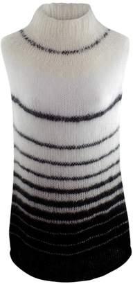 Claire Andrew - Monochrome Stripe Knit Top