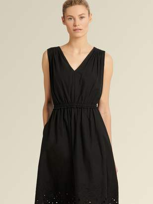 DKNY Sleeveless Eyelet Dress