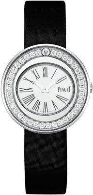 Piaget Possession 18k White Gold Watch with Diamonds