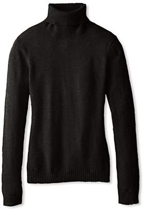 Cashmere Addiction Women's Long Sleeve Turtleneck Sweater