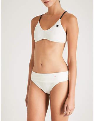 Champion Cross-back V-neck bikini top