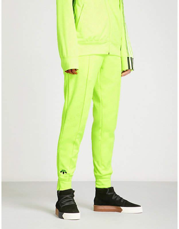 Adidas X Alexander Wang Regular-fit jacquard jogging bottoms
