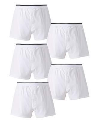 Jacamo Pack of 5 Loose Fit Boxers
