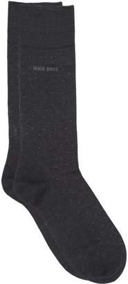 BOSS Mercerised Pin Dot Cotton Socks