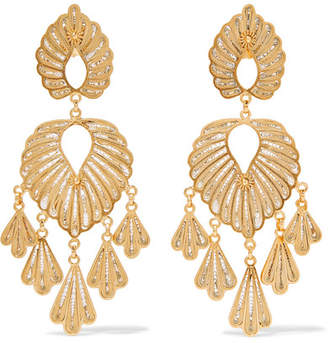 Mallarino Irene Gold Vermeil Earrings