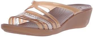 crocs Women's Isabella Mini W Wedge Sandal $36.77 thestylecure.com