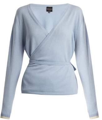PEPPER & MAYNE V-neck cashmere wrap top