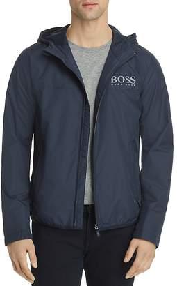 BOSS Green Jeltech Lightweight Water-Repellent Hooded Jacket