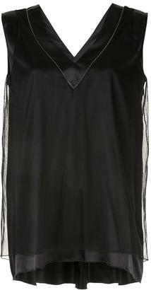 Fabiana Filippi layered blouse