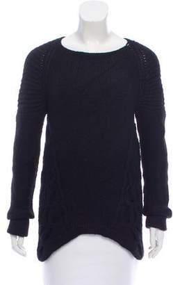 VPL Knit Asymmetrical Sweater