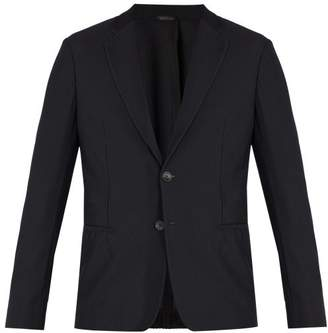 Giorgio Armani Mesh Dinner Jacket - Mens - Black