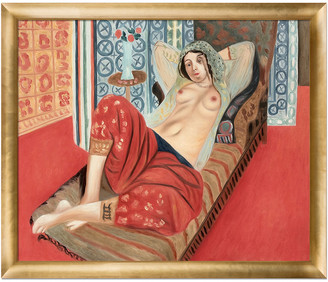 Matisse Overstock Art Overstockart Odalisque With Red Pants By Henri