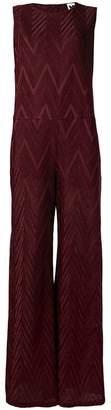 M Missoni zig zag pattern jumpsuit