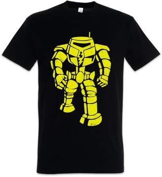 Theory Urban Backwoods The Big The Robot Bang T-Shirt - Sheldon Nerd Cooper TV