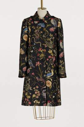 RED Valentino Brocard flora fauna printed coat