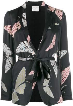 Forte Forte satin butterfly print jacket