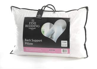 Fine Bedding Company Back Support V Shaped Pillow