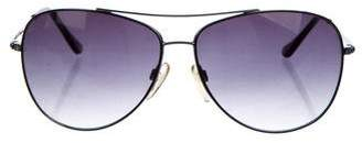 MICHAEL Michael Kors Tinted Aviator Sunglasses