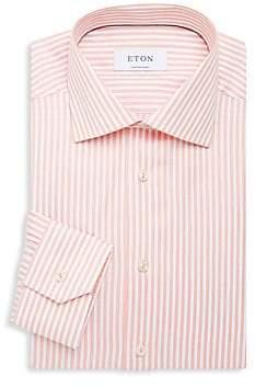 Eton Men's Contemporary-Fit Stripe Dress Shirt