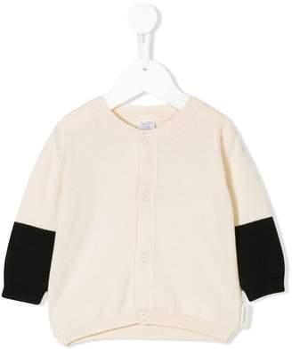 Tiny Cottons colour block cardigan