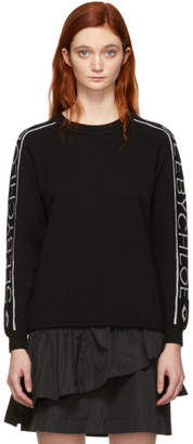 See by Chloe Black Knit Logo Sweater