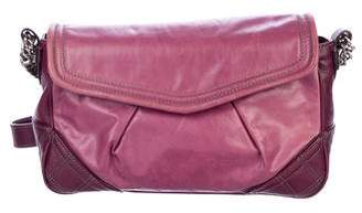 Marc Jacobs Pleated Leather Shoulder Bag