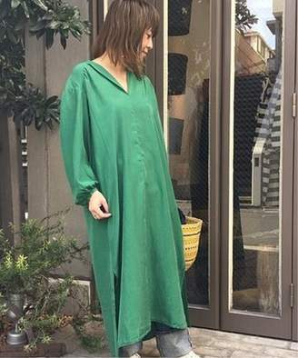 Journal Standard (ジャーナル スタンダード) - journal standard luxe 【POMANDERE/ポマンデール】 garment dyed silk skipper OP◆