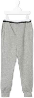 Calvin Klein Kids logo detail sweatpants