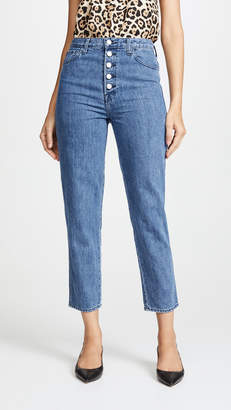 J Brand Heather Button Fly Jeans