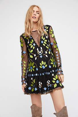 Hearts Are Wild Mini Dress by Free People $148 thestylecure.com