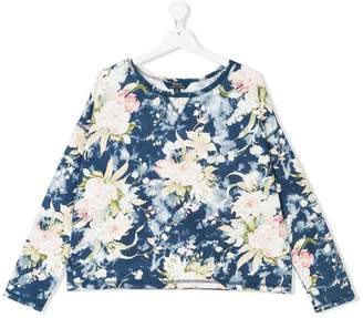 Ralph Lauren TEEN floral printed sweatshirt