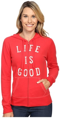 Life is good LIG Go To Zip Hoodie $54 thestylecure.com