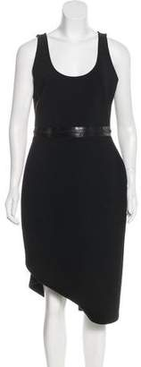 Givenchy Zip-Accented Neoprene Dress