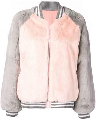 Liska fur bomber jacket