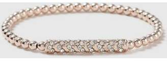 Dorothy Perkins Womens Crystal Stretch Bracelet