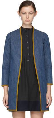 Visvim Indigo Denim Sanjuro Coat