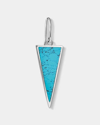 Thomas Sabo Turquoise Triangle Single Earring
