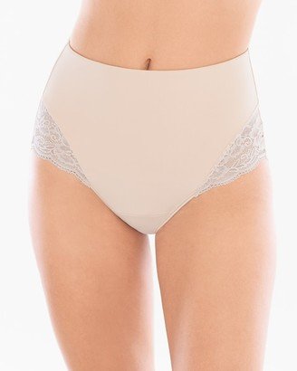 Vanishing Tummy With Lace Retro Brief