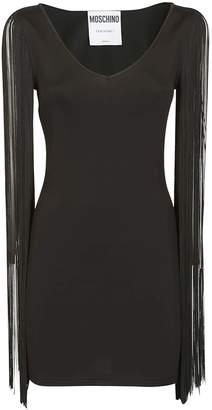 Moschino Fringed Sleeves Dress