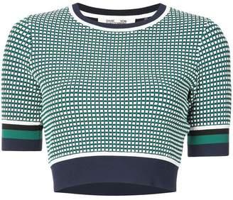 Diane von Furstenberg knitted crop top