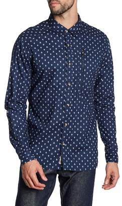 Triple Five Soul Nautical Print Regular Fit Shirt